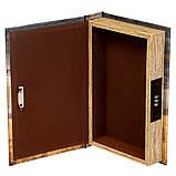Книга-сейф Veronese Лев 26х17х5 см 0001-001 книга сейф с замком шкатулка кэшбокс кэш бокс, фото 2