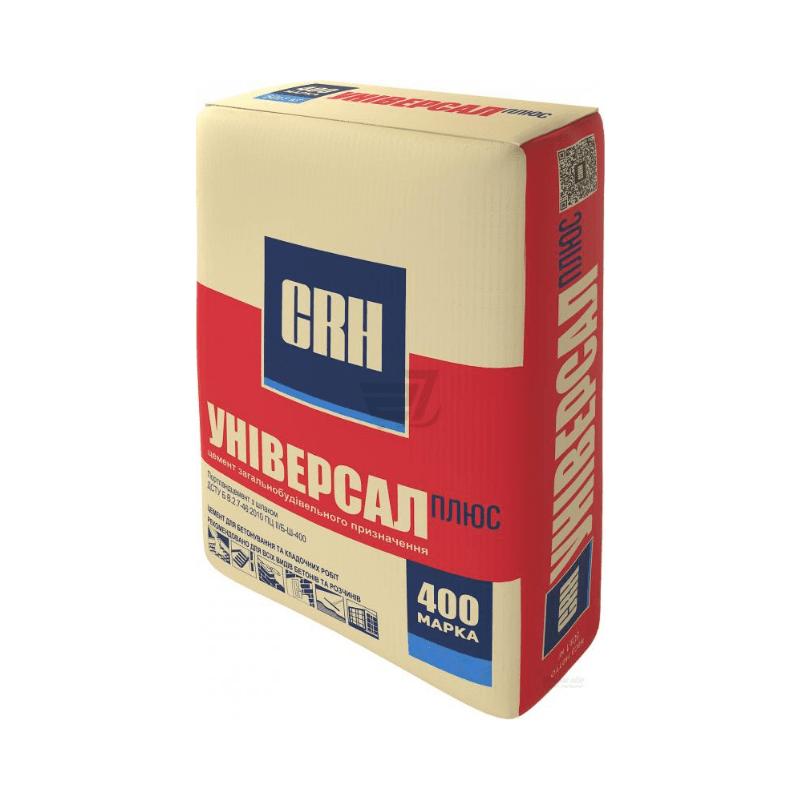 Цемент CRH  ПЦ-400 Б  25кг/64/