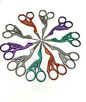 """Ножницы для рукодельниц, для вышивки «Цапельки"""" 11 см  Италия STAFIL Хорошего качества,отлично на подарок!"""