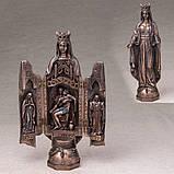 Триптих Veronese Дева Мария 29 см 75630 икона-триптих веронезе, фото 4