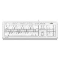 Клавіатура USB класична A4Tech Fstyler FK10 White