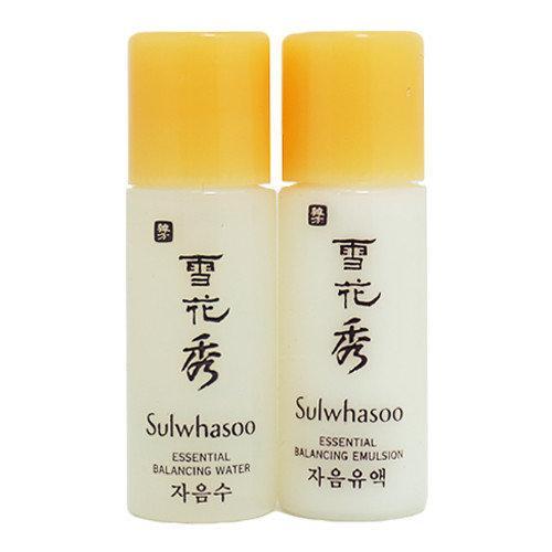 Увлажняющий тоник для лица Sulwhasoo Essential Balancing Water or/and Emulsion 5 мл