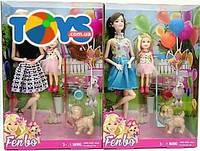 Кукла с ребенком и аксессуарами 4 вида, FB061062