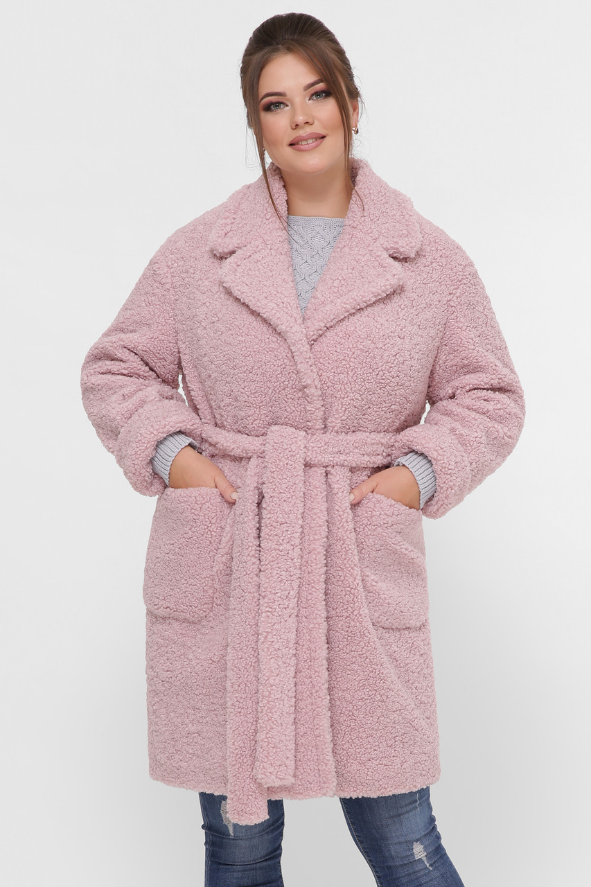 Женское пальто Ксюша пудра