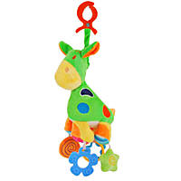 """Развивающая игрушка-подвеска  Baby Mix  """"Жирафчик """" с погремушками"""
