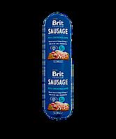 Колбаса Brit Premium Sausage Chicken & Lamb 13/9 (с курицей и ягненком для взрослых собак), 800 гр