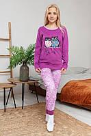 Пижама женская на байке, фото 1