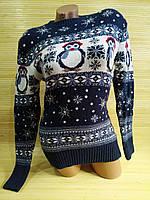 Новогодний свитер с пингвином Турция, фото 1