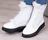 Ботинки молодежные зима на толстой подошве из натуральной кожи от производителя модель БС6020-3, фото 2