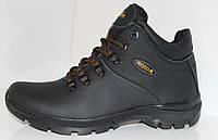 Зимние мужские ботинки в стиле ECCO,натуральная кожа. 41р.