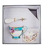 Чайный набор Pavone Фиалки 3 предмета 1451496 набор для чая сервиз, фото 2