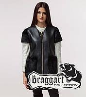 Braggart Youth | Женская жилетка весна-осень 25277 черная