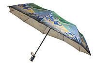 Зонт женский  полуавтомат, 9 карбоновых спиц (16662), фото 1