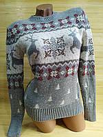 Модный Новогодний свитер Турция, фото 1