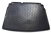 Полиуретановый автомобильный коврик для багажника Volkswagen Golf VI (Фольксваген Гольф 6) Хэтчбэк