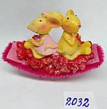 Сувенир статуэтка керамическая Крыса символ 2020 года 8*7 см, фото 4
