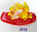 Сувенир статуэтка керамическая Крыса символ 2020 года 8*7 см, фото 5