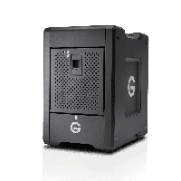 G-Technology G-Speed Shuttle Thunderbolt 3 with ev Series Bay Adapters  32TB Black (0G10078)