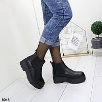 Женские короткие осенние ботинки, хит продаж, АО 8018, фото 1