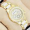 Часы женские наручные Майкл Корс crystal Gold-white/White