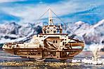 Буксир | UGEARS | Механический 3D конструктор из дерева, фото 2