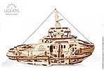 Буксир | UGEARS | Механический 3D конструктор из дерева, фото 3