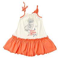 Сарафан для девочки 9 мес - 4 года молочный летний Minikin 1516702