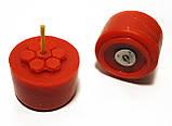 Красные чайные свечи из пчелиного воска Tea Lights Candles без гильзы, фото 2