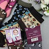 """Носки АНГОРА  для девочек, размер M (26-31).  """"Корона"""" . Детские зимние  носки, носочки шерстяные, фото 3"""