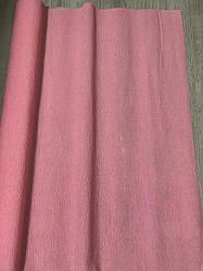 Гофробумага (крем бумага) 2.5 м Розовый нежный