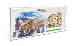 Пускатель самолетиков | UGEARS | Механический 3D конструктор из дерева, фото 6