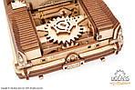 Кабриолет мечты VM-05 | UGEARS | Механический 3D конструктор из дерева, фото 4