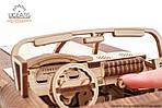 Кабриолет мечты VM-05 | UGEARS | Механический 3D конструктор из дерева, фото 5
