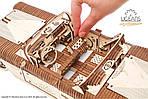 Кабриолет мечты VM-05 | UGEARS | Механический 3D конструктор из дерева, фото 7