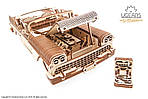 Кабриолет мечты VM-05 | UGEARS | Механический 3D конструктор из дерева, фото 8