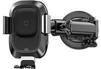 Автомобильное зарядное устройство Baseus Smart 2А Black, фото 4