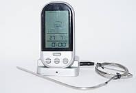 Беспроводной дистанционный цифровой термометр для мяса с температурным зондом °C, фото 1