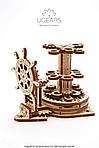 Штурвал-органайзер   UGEARS   Механический 3D конструктор из дерева, фото 5