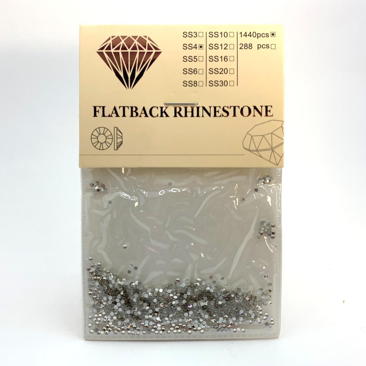 Стразы Swarovski SS4 Crystal 1440 штук