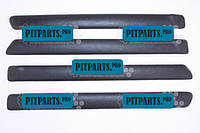 Накладка двери 2101, 2102, 2103, 2104, 2105, 2106, 2107 травмозащитная (батоны мягкие) Сызрань комплект 4 шт.