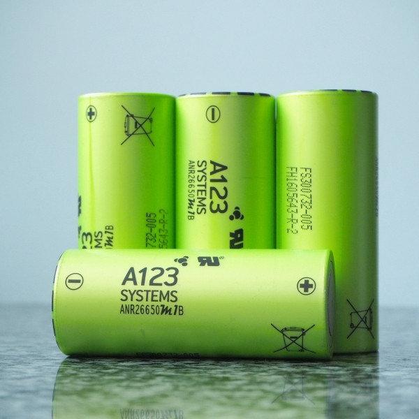 Нанофосфатная батарея A123 LiFePO4 ANR26650M1B