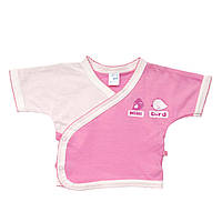 Распашонка (Льоля) для девочки 1-3 мес розовый летний Minikin 130702