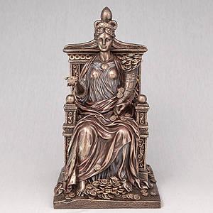Статуэтка Veronese Фортуна на троне 27 см фигурка алтарная веронезе с деньгами верона