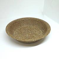 Биоразлагаемая посуда тарелка глубокая диаметр 20