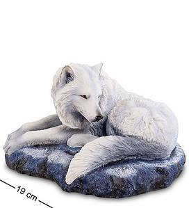 Статуэтка Veronese Белый Волк 19 см 1904142 страж севера фигурка волка веронезе
