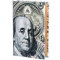 Книга-сейф Veronese Бенджамин Франклин 26х17х5 см 020UE книга сейф с замком шкатулка кэшбокс