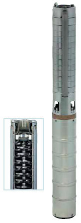 Глубинный насос 4'' Speroni SXT 70-39 нрк, 380V