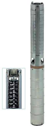 Глубинный насос 4'' Speroni SXT 100-17 нрк, 380V