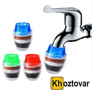 Угольный фильтр на кран для очистки воды Fauset Water