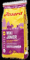 Josera Mini Junior Корм Йозера мини Юниор для щенков мелких пород 15 кг